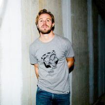 ÄSTHETIKA t-shirt robobear grey-black
