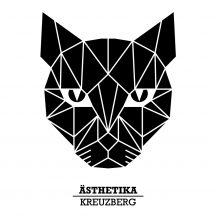 ÄSTHETIKA THE CAT print closeup