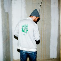 ÄSTHETIKA collage robobear grey green