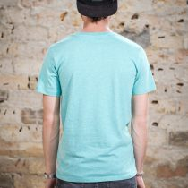 AESTHETIKA T-Shirt - THE FOX mid green/black back