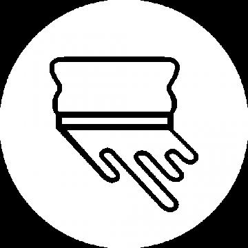 ÄSTHETIKA icon hand screen printed