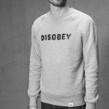 ÄSTHETIKA Sweatshirt disobey grey