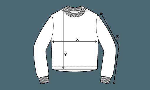 ÄSTHETIKA TZ Sweatshirt Cropped