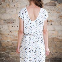 ÄSTHETIKA Dress One color dots back