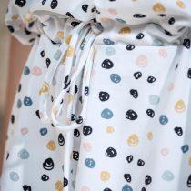 ÄSTHETIKA Dress One color dots detail2