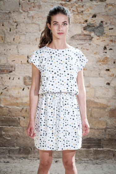ÄSTHETIKA Dress One color dots front