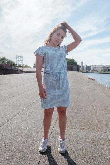 ÄSTHETIKA Dress One stripes mood