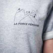 Raglan Dress - LA FORCE FÉMININE grey/black detail