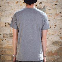 ÄSTHETIKA T-Shirt - DISOBEY grey/black back