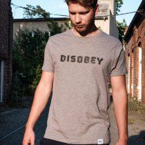 ÄSTHETIKA T-Shirt - DISOBEY grey/black mood