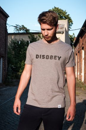 ÄSTHETIKA T-Shirt - DISOBEY grey/black mood