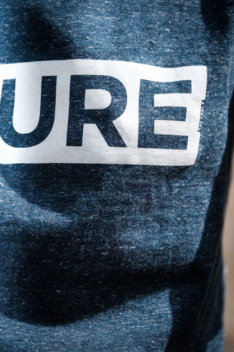 ÄSTHETIKA T-Shirt - FUTURE dark denim/white detail
