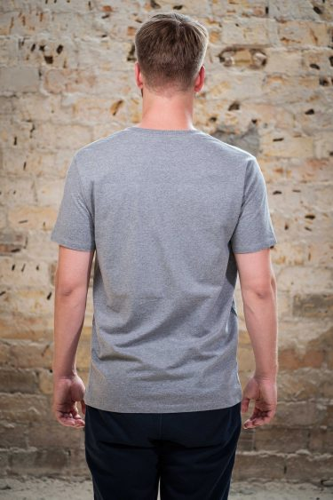 ÄSTHETIKA T-Shirt - FUTURE grey/black back