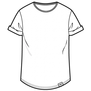 ÄSTHETIKA – Roll Up T-Shirt