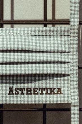ÄSTHETIKA – MASK mint check detail
