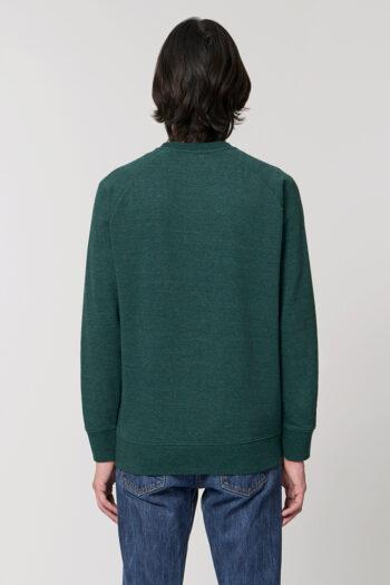 AESTHETIKA Sweatshirt snow green back