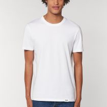 AESTHETIKA T-SHIRT LA REBELLE white red black front men