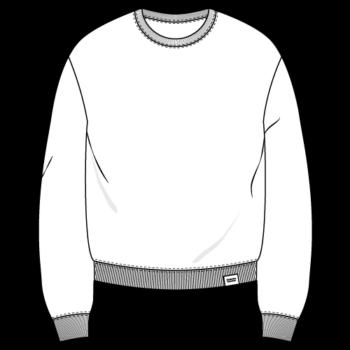 AESTHETIKA Sweater Dropped-Shoulder