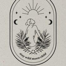 AESTHETIKA Motiv Close up MOON CHILD