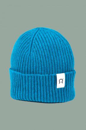 Rifó - Mütze turquoise detail