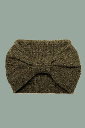 Rifó - Kaschmir Stirnband waldgrün