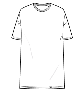 ÄSTHETIKA – T-Shirts Dress Oversize